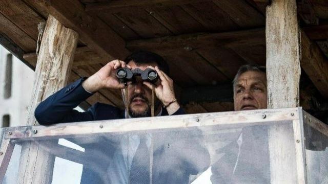 Matteo Salvini and Viktor Orban