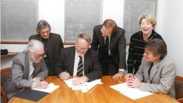 The Signing of the Foundation Charter